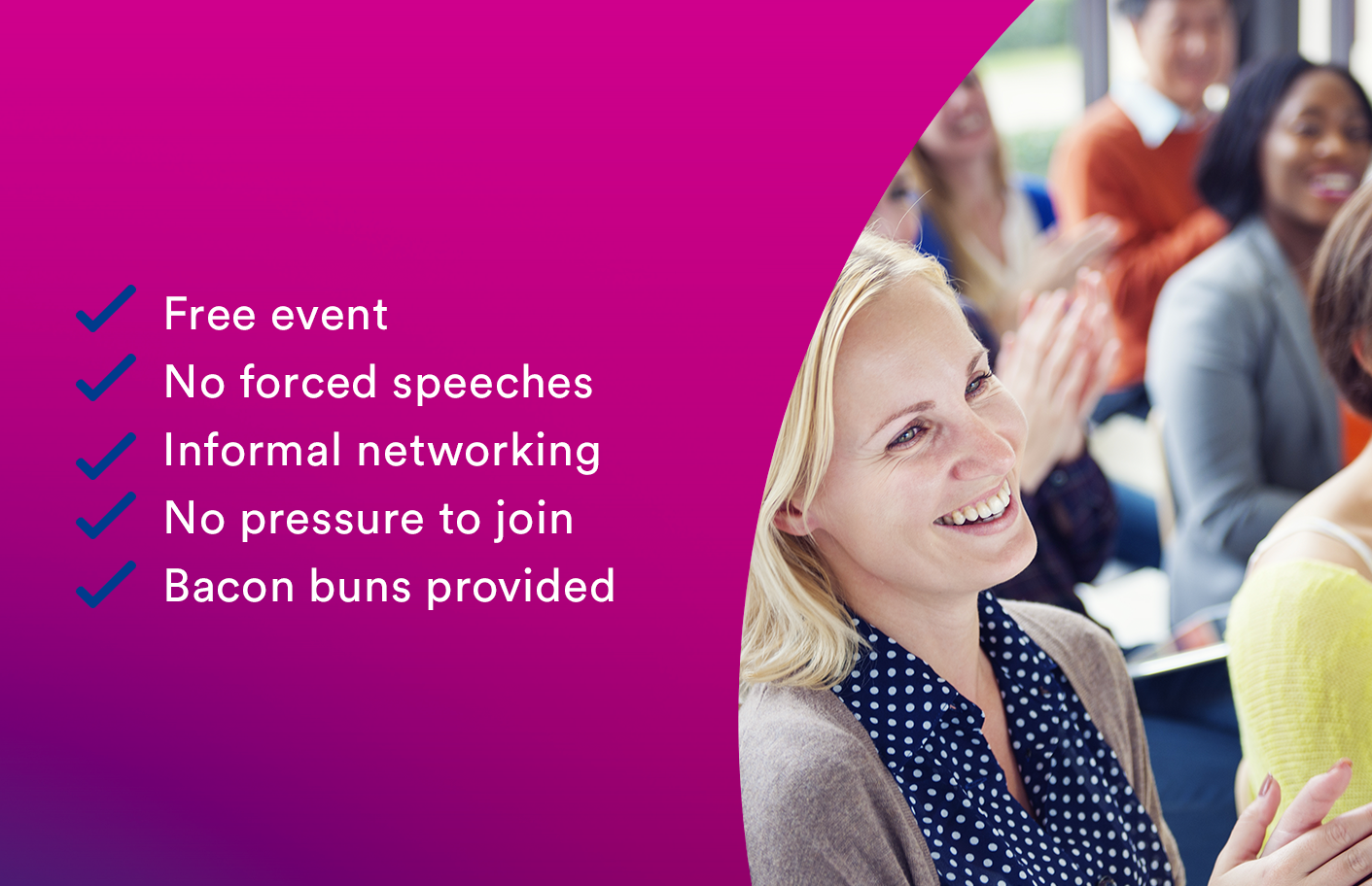 Join us for informal networking and breakfast
